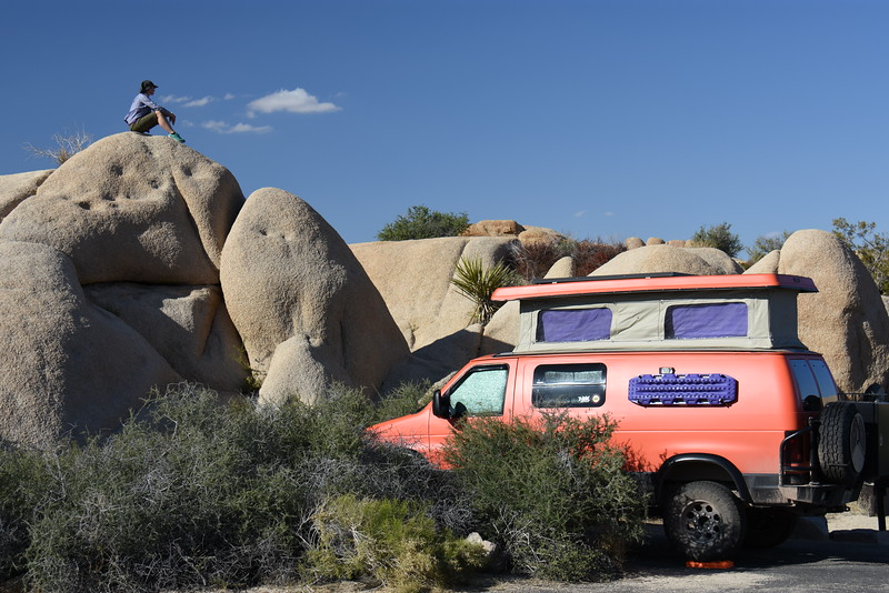 Jumbo Rocks Campground, Joshua Tree National Park, CA, USA