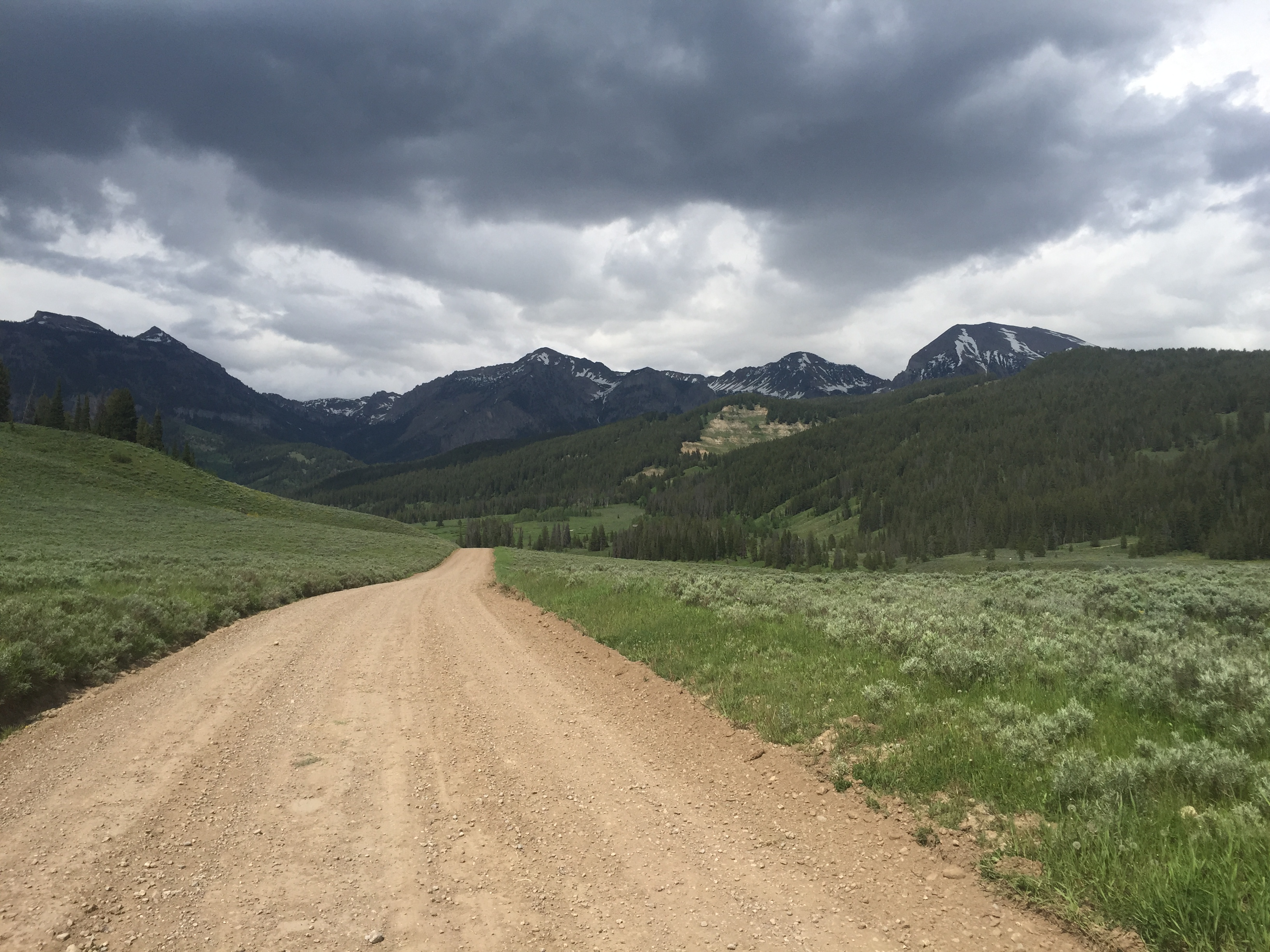 Granite Creek Road, WY, USA