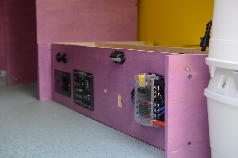 Purple powered platform pre completion