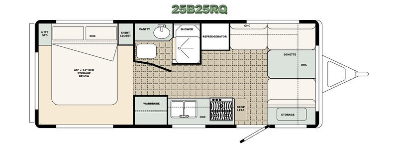 B25RQ Floor plan