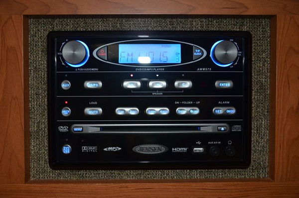 New Radio/CD/DVD Player