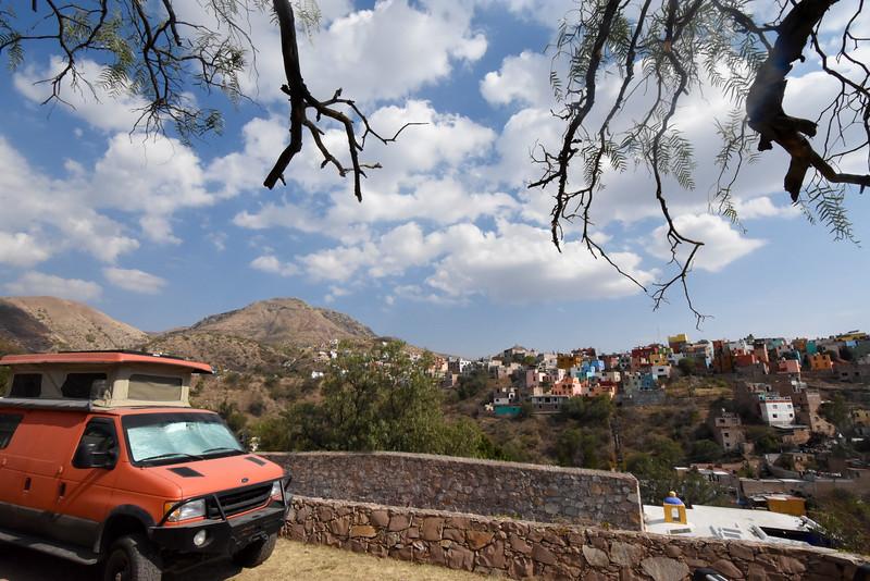 Morril RV Park, Guanajuato, Mexico