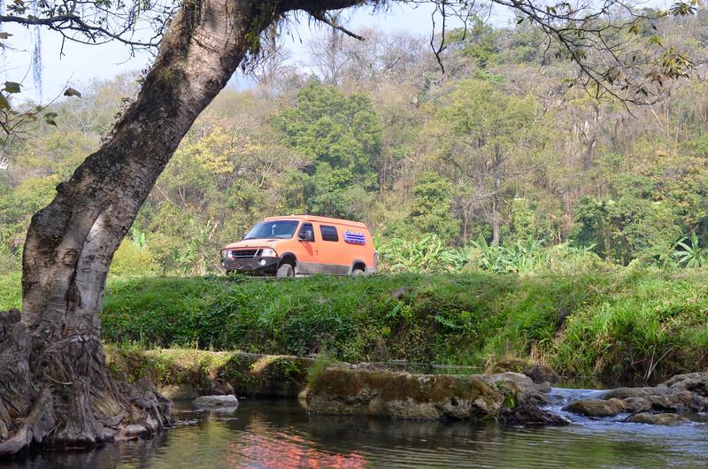 Cascadas Trampolin, San Luis Potosi, Mexico