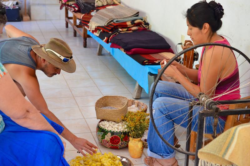 Arte Seda, Teotitlan del Valle, Oaxaca, Mexico