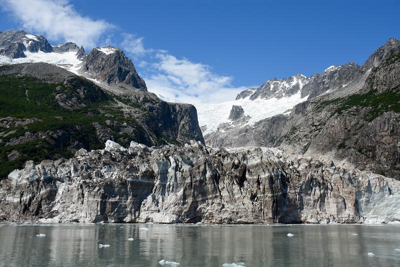 Ogive Glacier, Kenai Fjords National Park, AK, USA