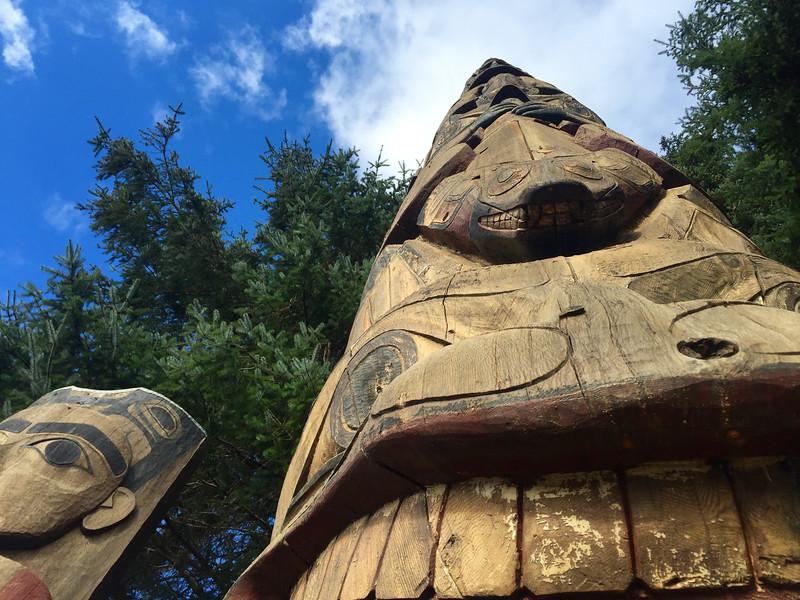 Totem Park, Sitka, AK, USA
