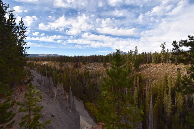 Pinnacles, Crater Lake, OR, USA