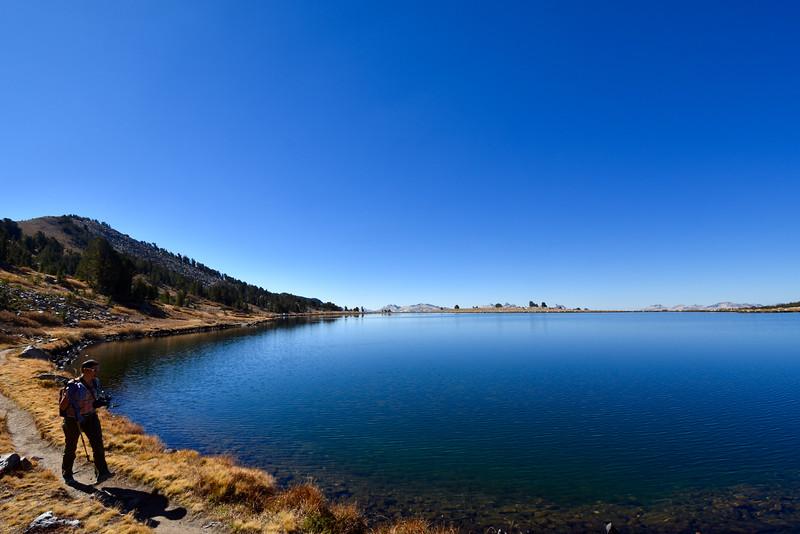 Middle Gaylor Lake, Yosemite, CA, USA