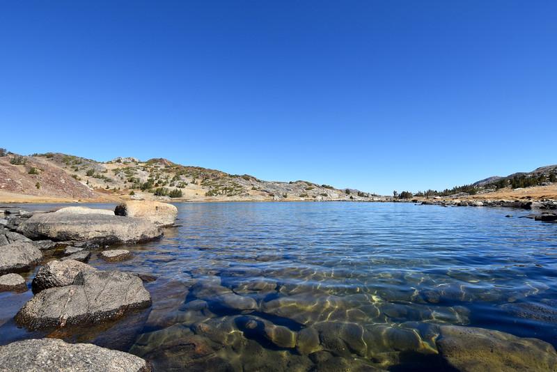 Upper Gaylor Lake, Yosemite, CA, USA
